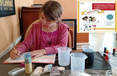 Science beyond the sparkle: Yellow Scope Science Kit for Girls on www.themakermom.com!