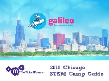 Camp Galileo, Galileo Innovation Camps are now in Chicago! Read all about it on www.TheMakerMom.com.