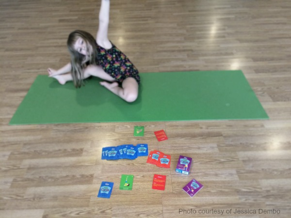 Yoga Cards: The Game by ThinkFun