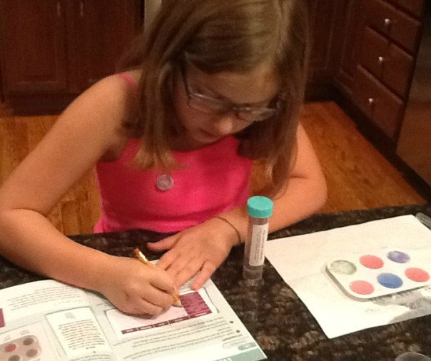 The new Yellow Scope Acids and Bases Science Kit for Girls reviewed on TheMakerMom.com