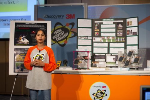 Maanasa Mendu, America's Top Young Scientist 2016! STEM Girl Friday.