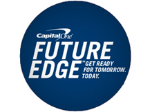 Capital One Future Edge program and computer science education.