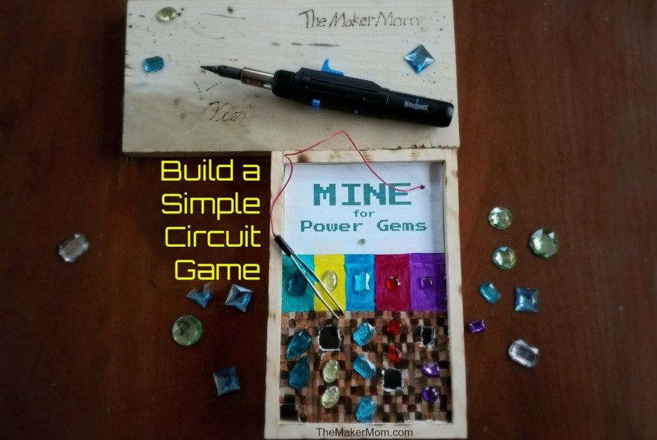Build a Minecraft-inspired DIY Operation Game with The Maker Mom!