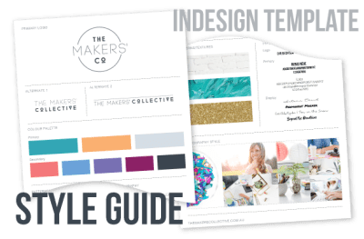 free style guide template