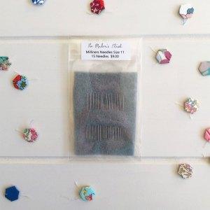 John James Milliners Needles Size 11 - English Paper Piecing