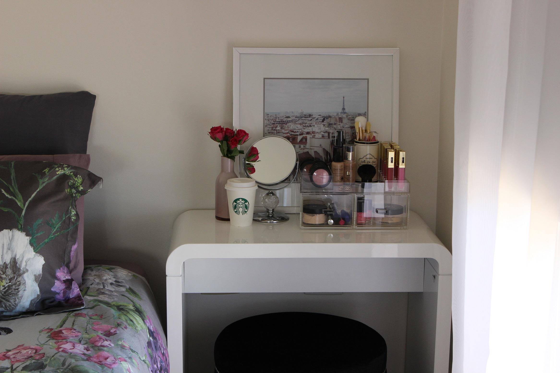 Makeup Vanity For Small Spaces