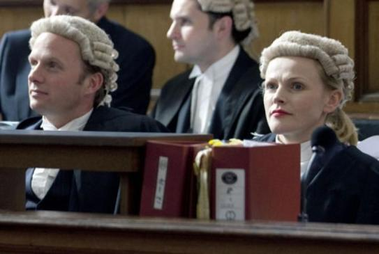 That's how we litigators appear in court. Sort of. Minus the wigs.