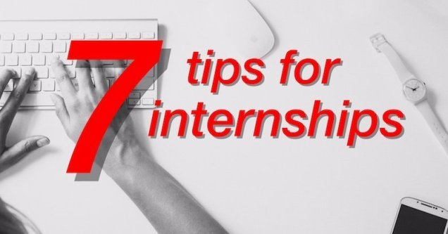 7 tips for internships FB