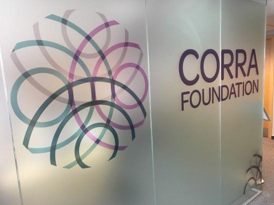 Corra Foundation logo