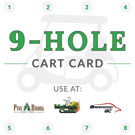 9-Hole Cart Card