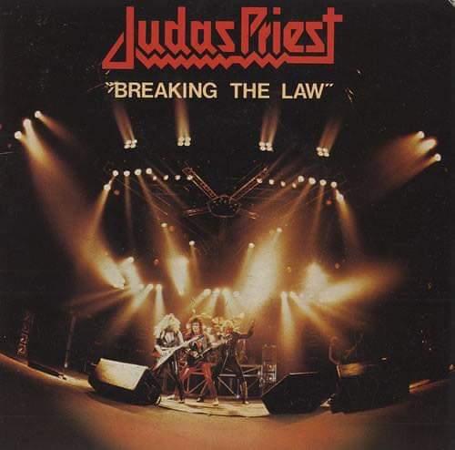 """Judas Priest – """"Breaking The Law"""" 39 år""""."""