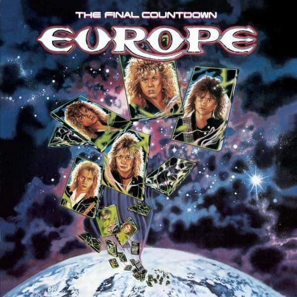 """Europe – """"The Final Countdown"""" 33 år."""