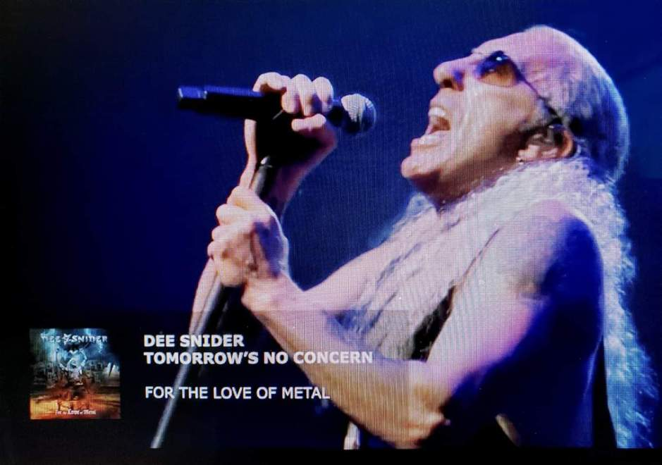 """Ny Video: """"DEE SNIDER – Tomorrow's No Concern (Official Video) 