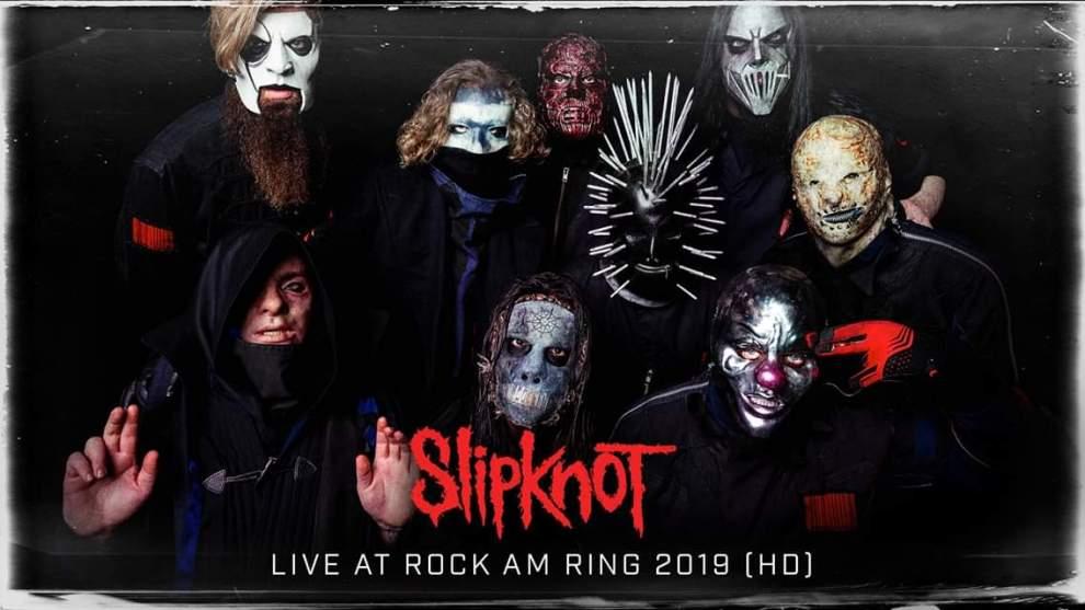 Se hela Slipknot:s konsert från Rock Am Ring 190609