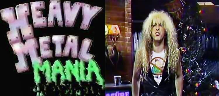 """Dee Snider som programledare? Vem minns """"Heavy Metal Mania?'"""