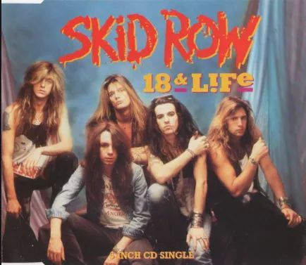 """""""Skid Row – """"18 And Life"""" Live at Moscow Music Peace Festival 1989""""."""
