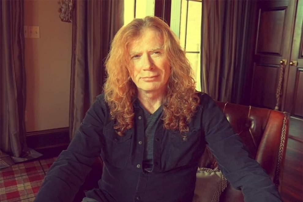 Dave Mustaine diagnoserad med Cancer i struphuvudet.