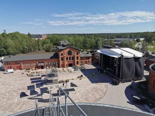 Dagens schema för Toto och The Night Flight Orchestra i Gävle.