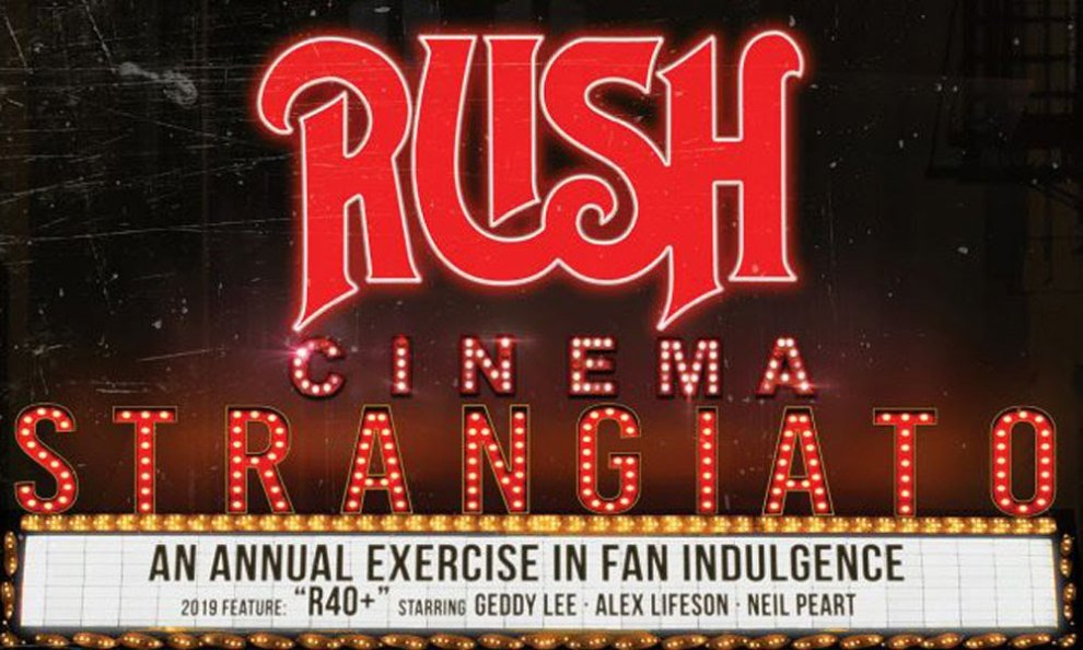 "Teaser:  ""Rush: Cinema Strangiato 2019 | OFFICIAL TRAILER"""