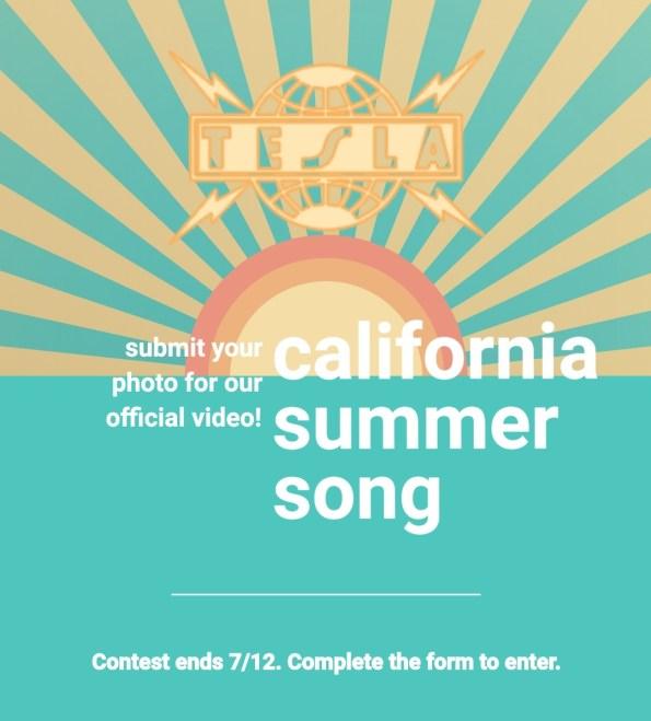 Unik chans! Skicka in ditt favorit semester kort till Tesla och du kan få chansen att föreviga den i ny musikvideo!