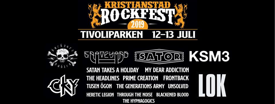 Kristianstad Rock Fest 2019