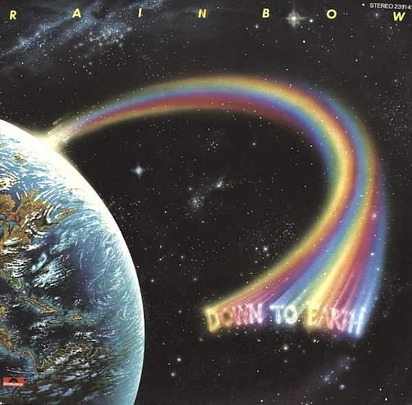 """Rainbow – """"Down To Earth"""" 40 år."""