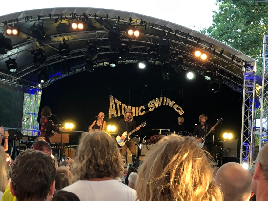 Liverecension: Atomic Swing – Villa Belparc, Slottskogen Göteborg – 2019-08-02