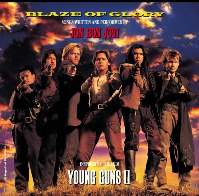 """Jon Bon Jovi – """"Blaze of Glory"""" 29 år."""