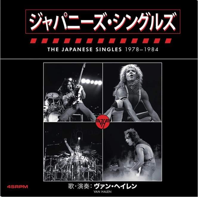Van Halen släpper japansk singel-box.