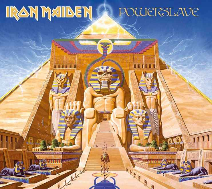 """Iron Maiden – """"Powerslave"""" 35 år. The Story Behind by Kerrang!"""