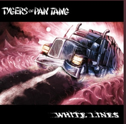"""Ny Video: Tygers Of Pan Tang – """"White Lines""""."""