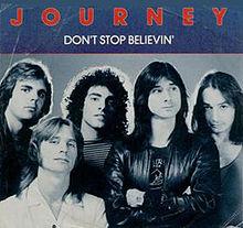 "Journey – ""Don't Stop Believing"" 38 år."