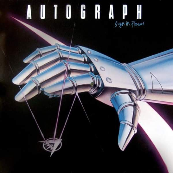 """Autograph – """"Sign In Please"""" 35 år."""