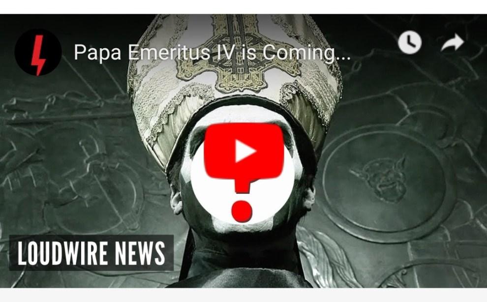 Tobias Forge avslöjar: Det blir Papa Emeritus IV som frontar nästa album.