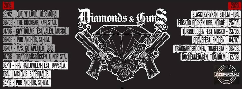 Ny Video Från Diamonds And Guns