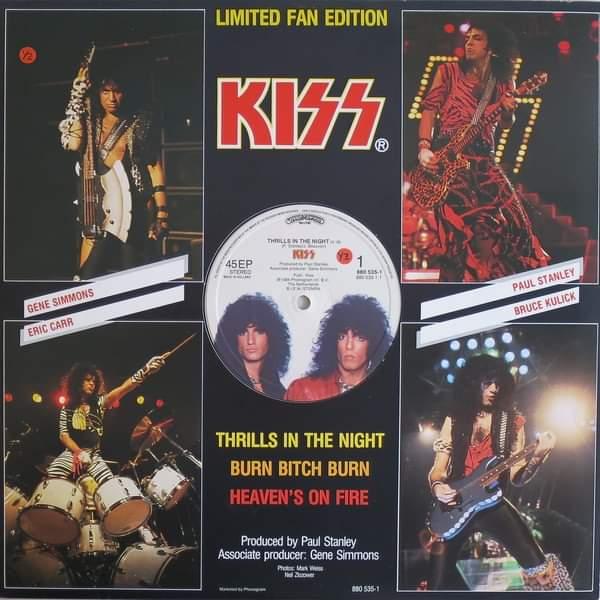 "Kiss – ""Thrills In The Night"" 35 år."