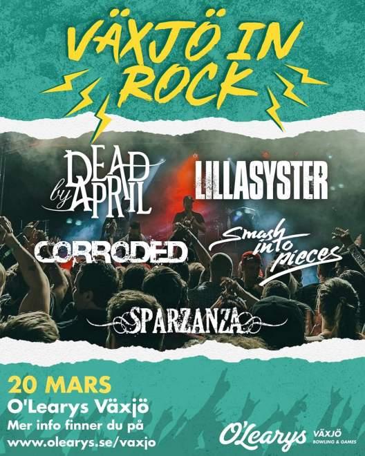 O'Learys Växjö anordnar Metal Festival!