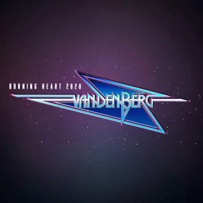 "Ny Singel: Vandenberg – ""Burning Heart""."