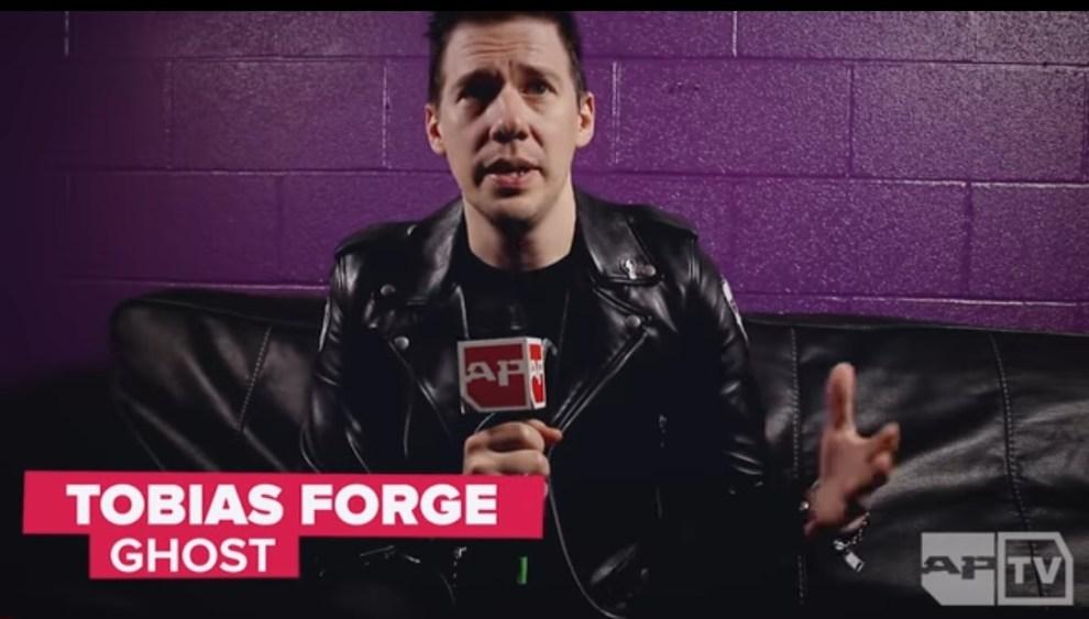 Ny intervju: Tobias Forge.