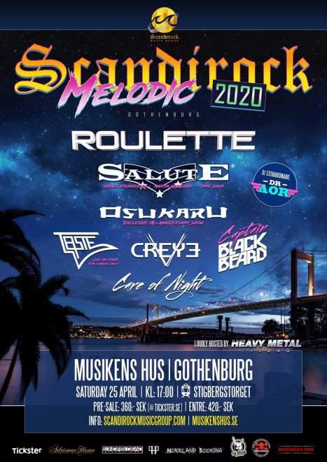 💥Boom💥 Scandirock Melodic 2020 presenterar ännu en headliner! Det här vill du INTE missa!