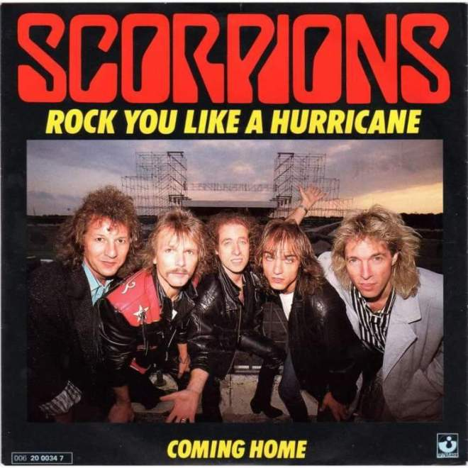 "Scorpions – ""Rock You Like A Hurricane"" (Singel) 36 år!"