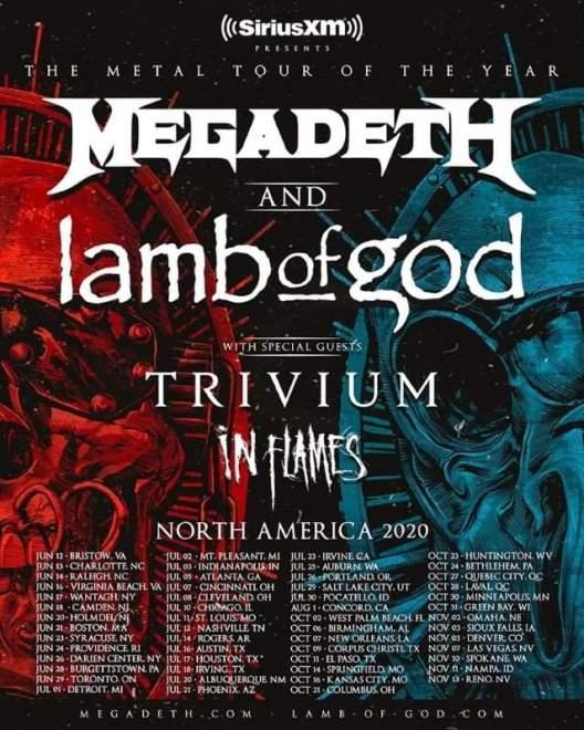 In Flames del av ny stor USA turné.
