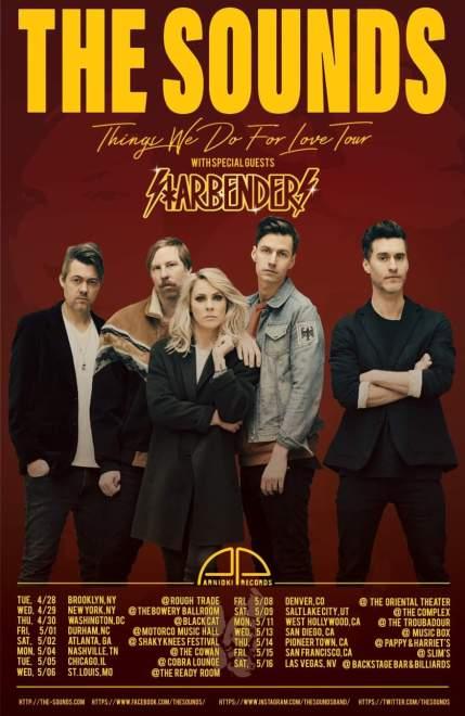 Breaking News! The Sounds släpper ny singel, nytt album och ger sig ut på världsturné!