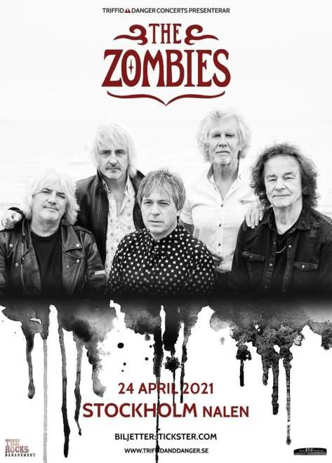 The Zombies spelar i Stockholm! 🧟♀️