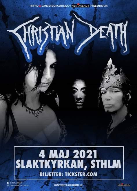 Christian Death kommer till Stockholm!