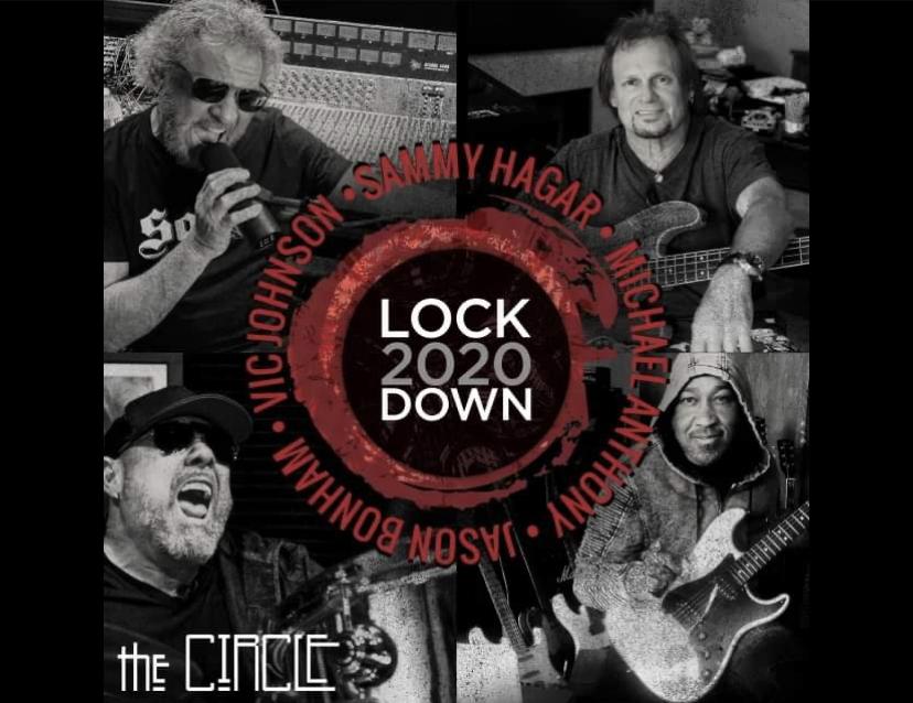 """Sammy Hagar & The Circle släpper """"Lockdown 2020""""!"""