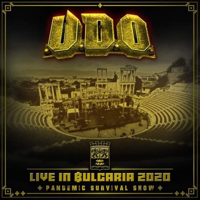 "U.D.O. släpper ""Live In Bulgaria 2020 – Pandemic Survival Show."
