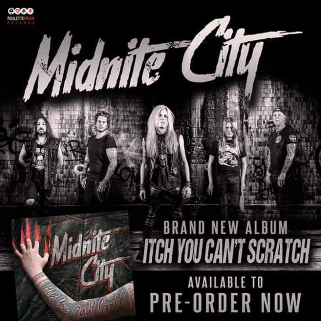 MIDNITE CITY release new single 'Crawlin' In The Dirt' on 22nd January, out on Roulette Media Records.