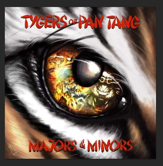 "Tygers Of Pan Tang release ""Majors & Minors"" in May."
