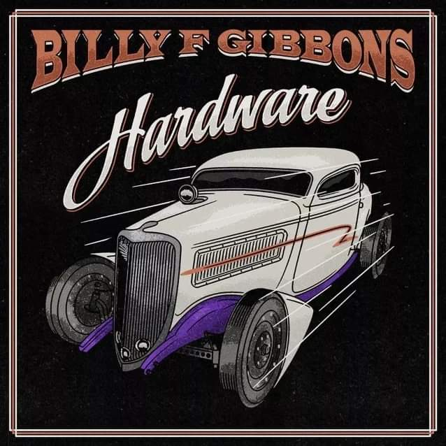 "Billy Gibbons new solo album ""Hardware"" out via Concord Records om June 4."